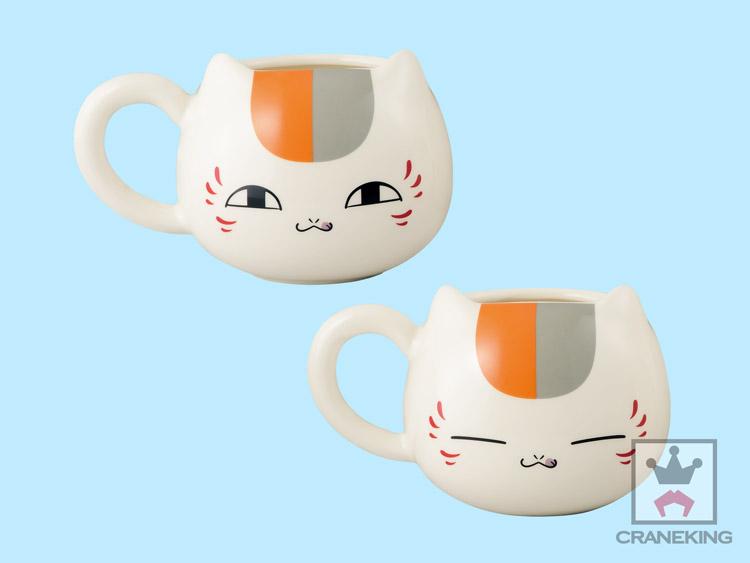 ニャンコ先生かふぇ 顔型マグカップ